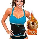 Waist Trimmer Waist Cincher Sweat Belt, Waist Trainer corset for Weight loss by UltraComfy