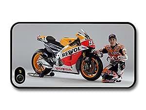 Marc Marquez MotoGP Portrait Driver case for iPhone 4 4S A080