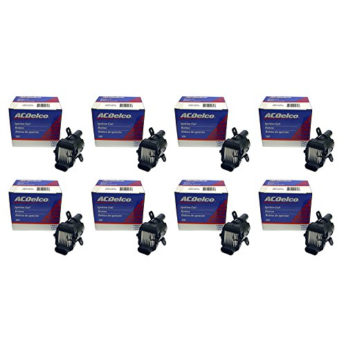 Eight New OEM ACDelco Ignition Coils D585 10457730 UF262 C1251 BSC1251 -
