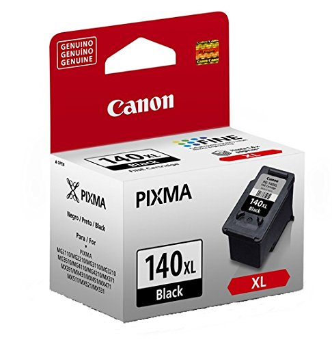 CANON PG-140 XL Genuine Black Ink