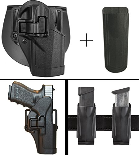 Speed Clip Beretta Cqc Platform (BlackHawk Beretta PX4 Storm Right Hand CQC Serpa Concealment Paddle & Belt Loop Holster + Ultimate Arms Gear Magazine Pouch Holder,)