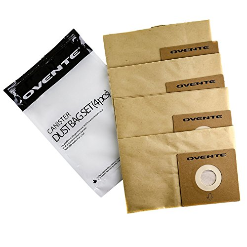 Ovente Premium Replacement Dust Bag Filters, ST1600 Series (ACPST16704)