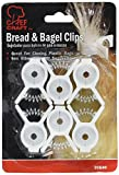 bread bags plastic - Pack of 6 Bread & Bagle Clips
