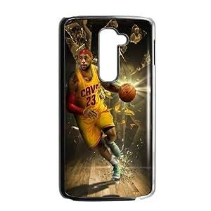 LeBron James HILDA0113887 Phone Back Case Customized Art Print Design Hard Shell Protection LG G2