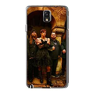 Best Cell-phone Hard Cover For Samsung Galaxy Note3 (rBv4294lPGm) Provide Private Custom Colorful God Forbid Band Skin