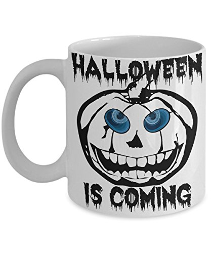 White Walker Mug-Jack-O-Lantern Coffee Cup- Halloween Is Coming-Game of Thrones Gift