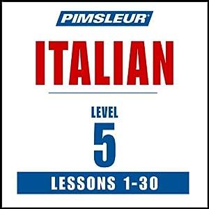Italian Level 5 Speech