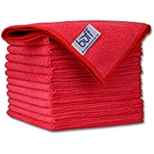 "12"" x 12"" Buff Pro Multi-Surface Microfiber Towels 