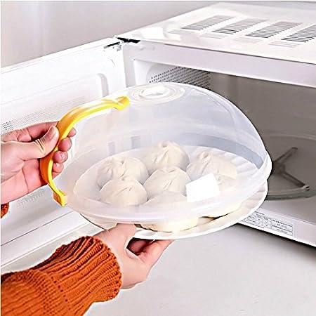 bureze tapa para alimentos microondas horno aceite prueba ...