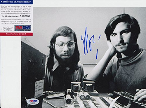 Steve Wozniak Signed Autograph 8x10 Photo PSA/DNA COA #11