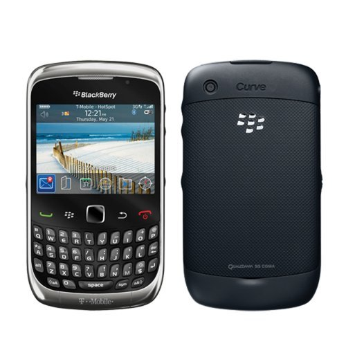 BlackBerry Curve 3G 9300 Black WiFi Unlocked QuadBand Cell Phone