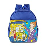Toddler Kids The Magic School Bus School Backpack Funny Sayings Children School Bags RoyalBlue