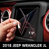IBACP 7.0 Inch Media Center Screen Uconnect Car Navigation Screen Protector For 2018 Jeep Wrangler JL
