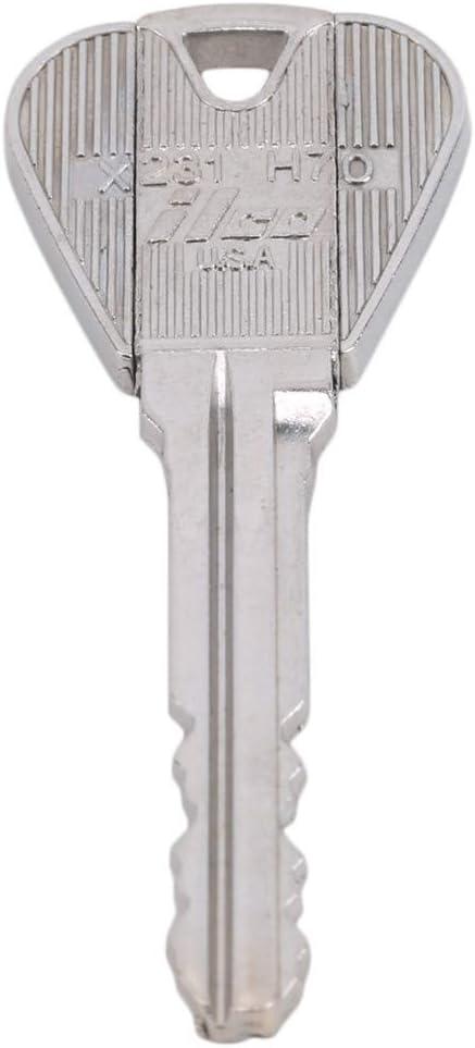 Kissherely 2 PCS Magic Trick Key Folding Deformation Key through Bottle//Ring Magic Trick Props Tool Joke Toy