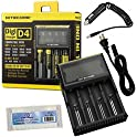 Nitecore D4 Charger New Smart Universal Charger