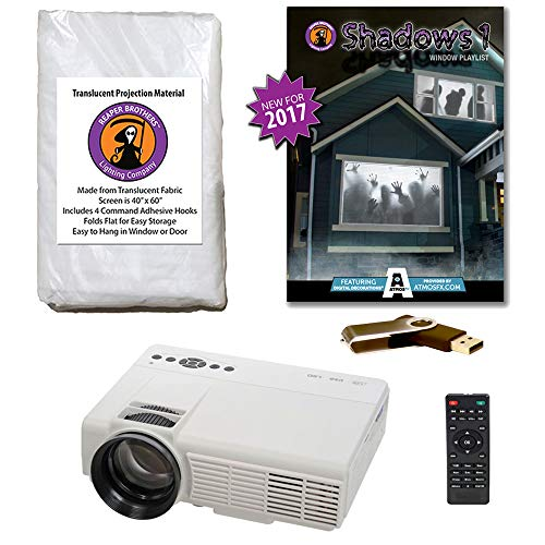 AtmosFearFX SHADOWS 1 Compilation Video Projector Kit on