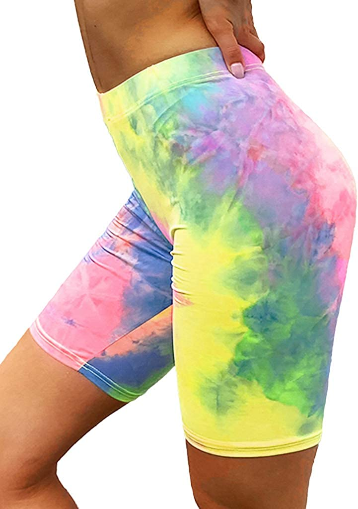 Tie Dye Shorts Yoga Shorts Women Boho Shorts Hippie Shorts Gypsy Shorts Rayon Shorts  Comfy Shorts Festival Shorts Festival Clothing