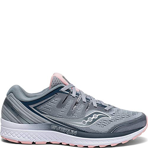 (Saucony Guide ISO 2 Women 6.5 Gray | Blush )
