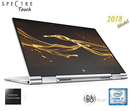 2018 HP Spectre Touch x360 13t-ae00 Silver Convertible 8th Gen Quad Core...