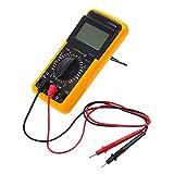 Alloet Heavy-Duty Digital Multimeter Handheld Meter Voltmeter Ammeter Ohmmeter Capacitors Farads