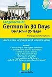 Langenscheidt German in 30 Days: Book + CD