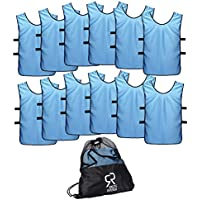 SportsRepublik Pinnies Scrimmage Vests for Kids, Youth...