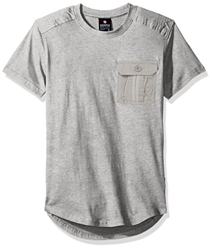 Southpole Short Sleeve Scallop Detail