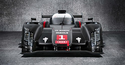 Audi R18 Le Mans Exotic Sports Car Large Poster Quattro Supercar Euro Vw