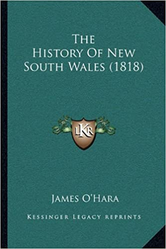 The History of New South Wales (1818)