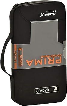 COOFIT Estuche para CD Estuche VCD portátil con Capacidad para 96 ??Estuche para CD Estuche para CD Organizador de Discos: Amazon.es: Equipaje