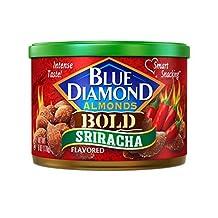 Blue Diamond Almonds, Sriracha, 6 Ounce by Blue Diamond Almonds