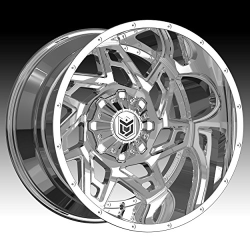 Dropstars 652V 20×10 6×135/6×139.7 -25mm PVD Chrome Wheel Rim