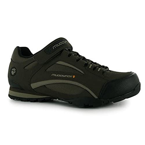 Muddyfox TOUR 100 - Zapatillas de deporte bajas para ciclismo, con cordones en el empeine, para hombre: Amazon.es: Zapatos y complementos