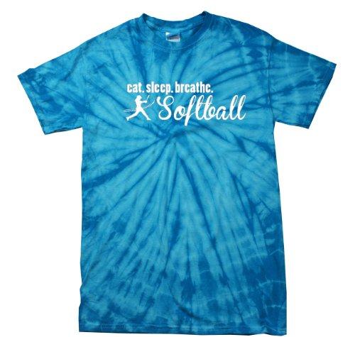 Sleep Breathe Softball Player T Shirt product image