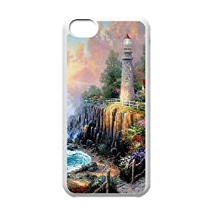 GGMMXO Lighthouse Shell Phone Case For Iphone 5C [Pattern-1]