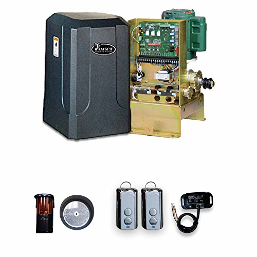 (RAMSET 100 Kit 2 Residential Gate Opener Automatic Slide Gate Operator)