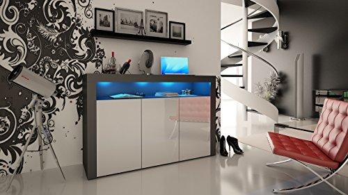 High Gloss Sideboard With Led Lights in Florida - 5