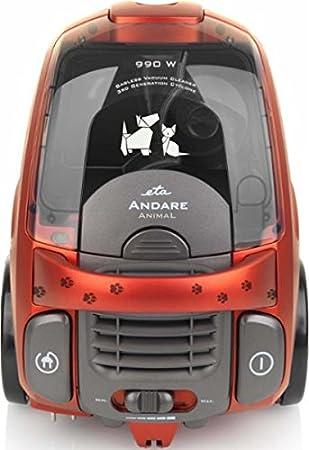 Omega ETA andare Animal Aspiradora sin bolsa rojo Turbo Boquilla 990 W: Amazon.es: Electrónica