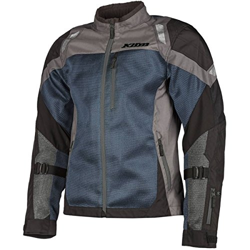 KLIM Induction Men's Street Motorcycle Jackets - Blue/Large