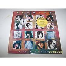 """Bangles - Different Light - 12"""" LP 1986 - CBS CBS 26659"""