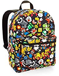 Super Mario Comic Print Backpack
