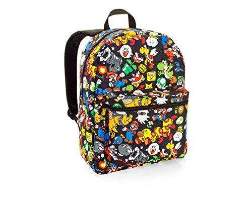 Super Mario Comic Print Backpack