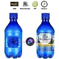 WEKE Hidden Spy Camera,1080P HD Blue Bottle Portable Camera