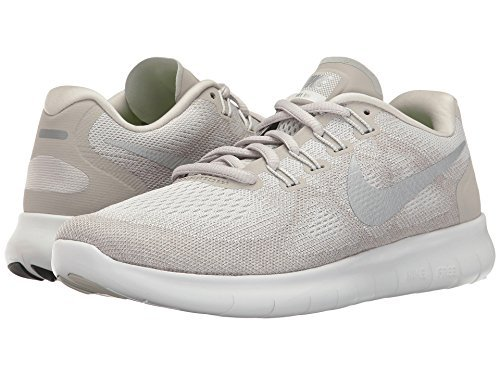 Nike Womens Free RN 2017 Running Trainers 880840 Sneakers Shoes (UK 6 US 8.5 EU 40, Sail Metallic Silver - Us 104