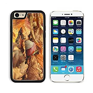 Yellow leaves autumn chestnuts Deadwood Mogo Outlet iPhone 6 Cover Premium Aluminium Design TPU Case Open Ports Customized Made to Order
