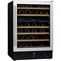 (DR) NFINITY PRO S Dual Zone 46-Bottles Wine Cellar, Wine Cooler w/ Steel Door (S1011)