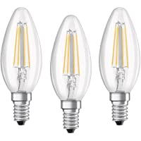 OSRAM LED Base Classic B / LED-lamp in Candle Shape with E14-base / not dimmable / Replacement for 40 Watt / Filament…