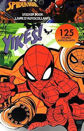 (Marvel Spider-Man Stickers Book - 125 Stickers - Halloween)