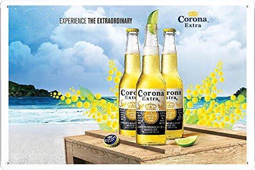 Amazon.com: Corona Beer Tin Cartel por los alimentos ...