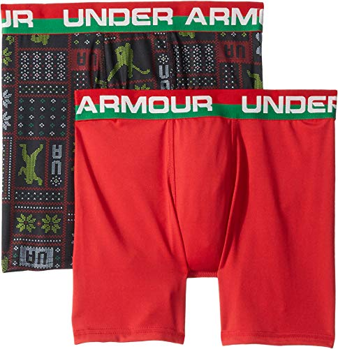 Under Armour Kids Boy's 2-Pack Holiday Sweater Set (Big Kids) Black Small - Holiday Boys Sweater